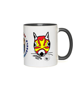 Mexican Wrestling Squirrels - Accent Mug