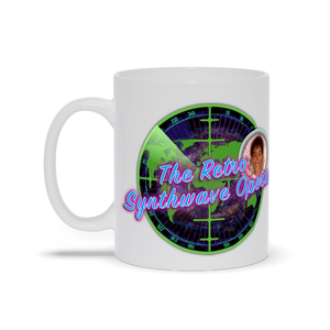The Retro Synthwave Opera 11 oz Mug