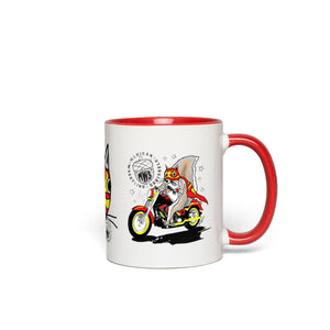 Paco - Mexican Wrestling Squirrels - Accent Mug