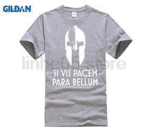 Load image into Gallery viewer, GILDAN New Style Printed T Shirt Men Si Vis Pacem Para Bellum Unisex Cotton T-Shirt Men Large Round Neck T Shirt Pop Top Tee