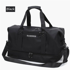 Waterproof Women Travel Bag Separate Space For Shoes sac Fitness Training Shoulder Hand bags Dry Wet Luggage Duffel Totes Men