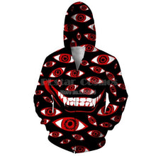 Load image into Gallery viewer, PLstar Cosmos Womens Mens Chill Red Hoodie Zipper Hoodies Women Men 3d Print Hoodie Zip Up Jacket Sweatshirt Unisex Clothes