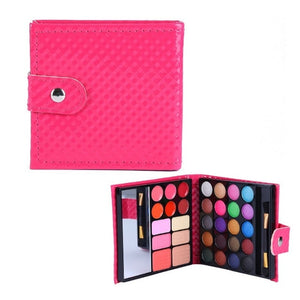 Pro 32 Colors Makeup Eyeshadow Palette Fashion Face Eye Lips Make Up Kit With Case Cosmetics For Women