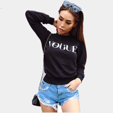 Oversized Punk Cool Runway Autumn Women Pullover Hoodies Lady Letter Printed Chill Vogue Sweatshirt Jumper Female sexy Tracksuit