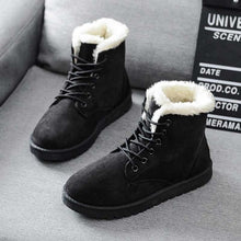 Load image into Gallery viewer, Women Boots Warm Winter Women Shoes Plus Size Female Faux Suede Ankle Boot For Woman Botas Mujer Plush Ladies Snow Boots WSH3132
