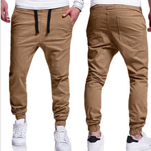Load image into Gallery viewer, INCERUN 2019 Summer Men Leisure Causal Harem Pants New Fashion Hip Hop Chinos Trousers Joggers Cotton Sweatpants Elastic Cuff