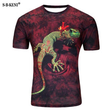 Load image into Gallery viewer, 2019 New Arrivals Mens 3d T-shirt Print Winter Forest Trees Quick Dry Summer Tops Tees Brand Tshirts Plus Size