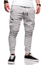 Load image into Gallery viewer, Men'S 2019 New Brand Tether Elastic Sports Trousers Long Paragraph Casual Pants Classic Three-Dimensional Patch Pocket