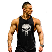 Load image into Gallery viewer, Bodybuilding Stringer Mens Muscle Hoodies Fitness Bodybuilding Sleeveless Gym Tank Top Vest