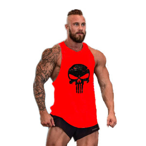 Bodybuilding Stringer Mens Muscle Hoodies Fitness Bodybuilding Sleeveless Gym Tank Top Vest