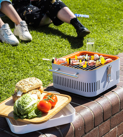 barbecue portable the cube