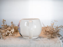 "Load image into Gallery viewer, Crystal Ball ""Know Your Power"" Mug with mother of pearl 1"
