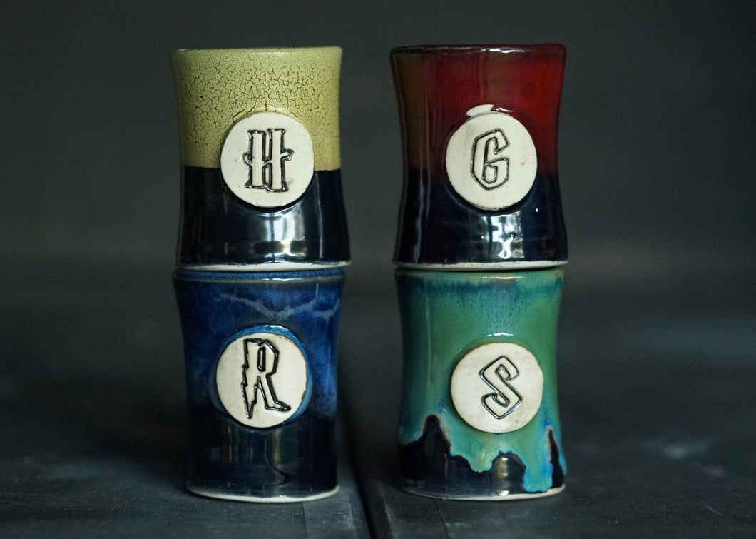 House shot glass set of 4 #2