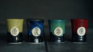 House shot glass set of 4 #3