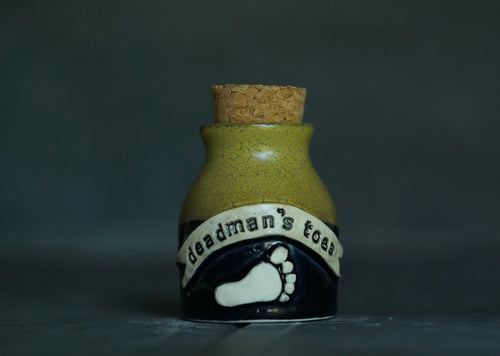 Deadman's toes potion bottle with cork