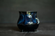 Load image into Gallery viewer, Moon Goddess cauldron Mug in Blue 2