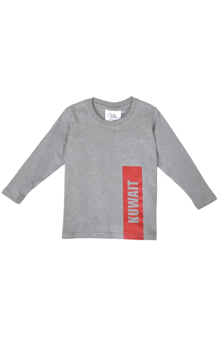 Boys Grey Shirt