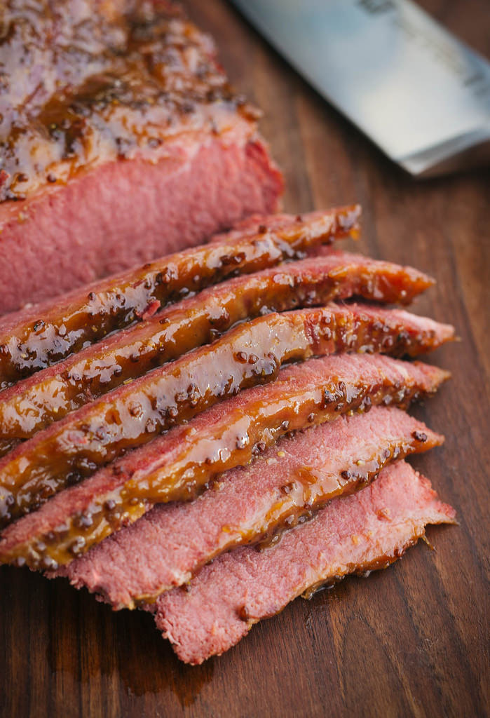 Home-brined Corned Beef