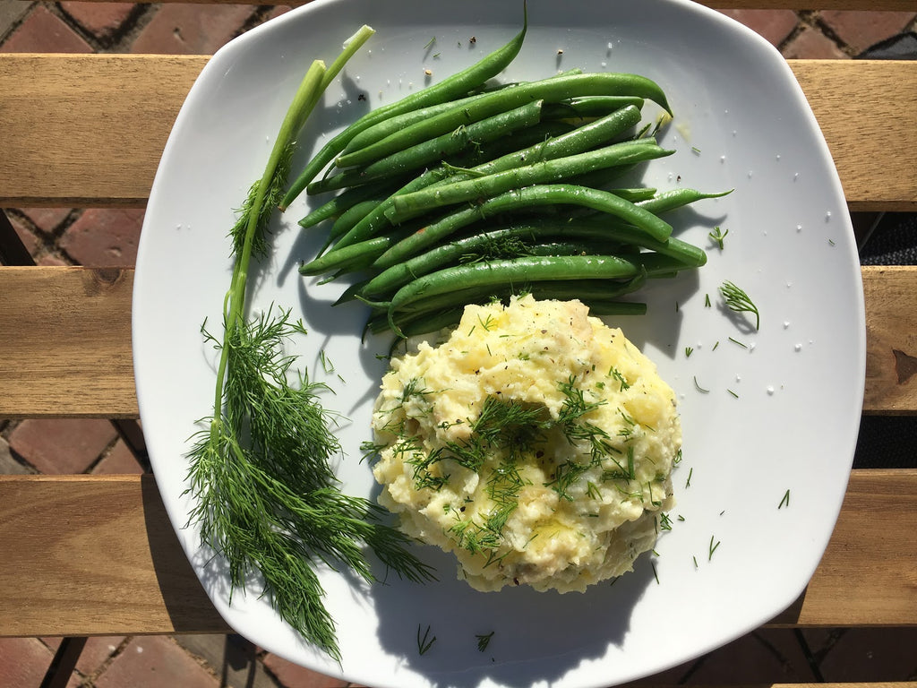 Creamy Dill Mashed Potatoes