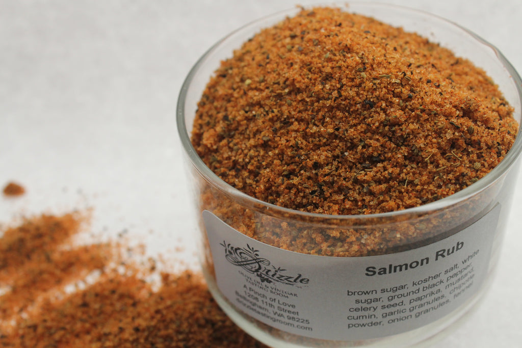 Salmon Rub - Drizzle Olive Oil and Vinegar Tasting Room
