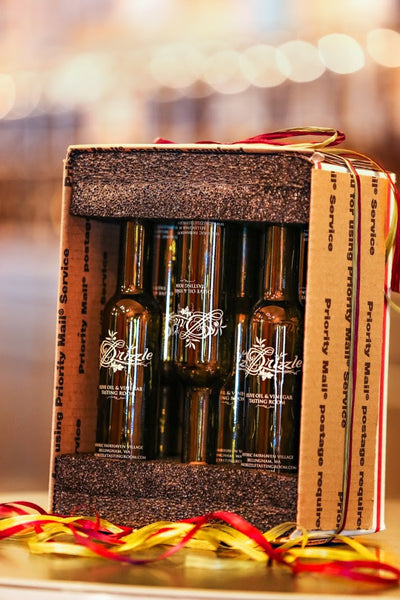 """Sweet & Tart"" Gift Box 6 200mls - Drizzle Olive Oil and Vinegar Tasting Room"