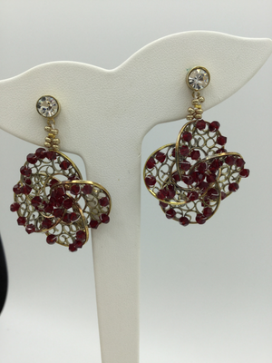 Flores earrings