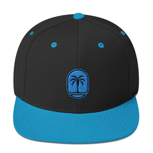 Blue Palm Hat