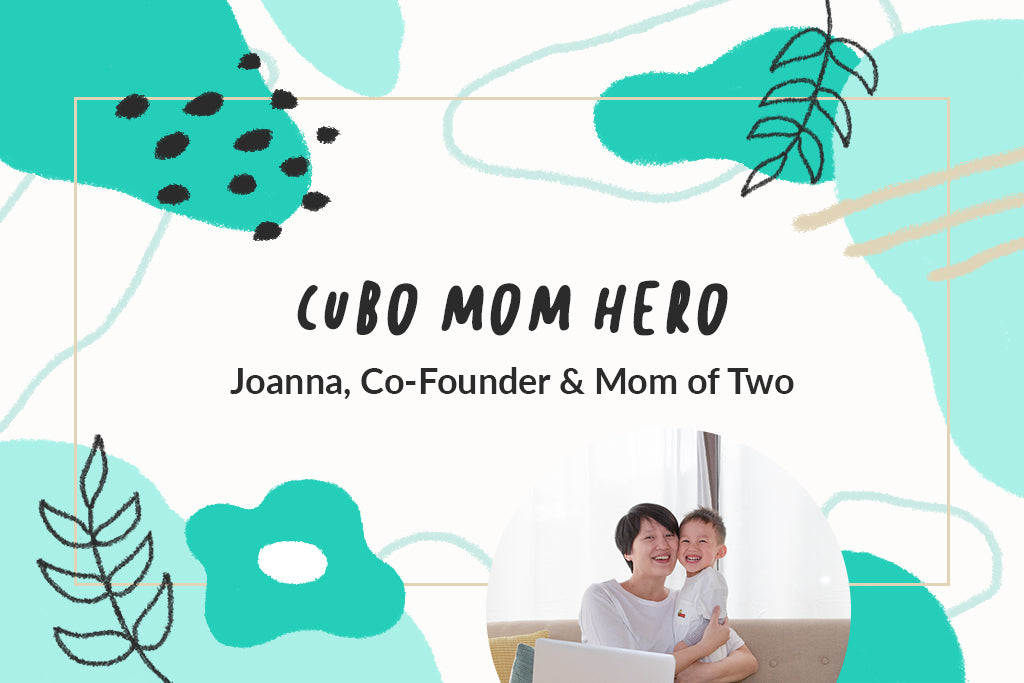 Cubo Ai's Mom Hero: Joanna Lin, Co-Founder and Mother of Two