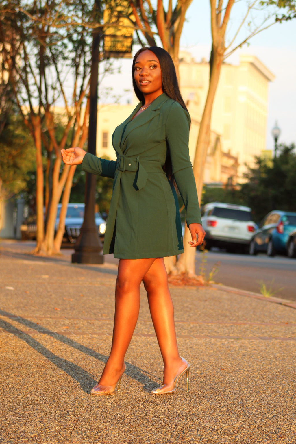 Emerald Green Tuxedo Jacket/Dress