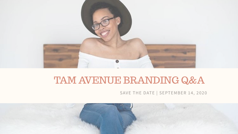 BRANDING WITH TAM (CHECKOUT WITH EMAIL ADDRESS NOT PHONE NUMBER)