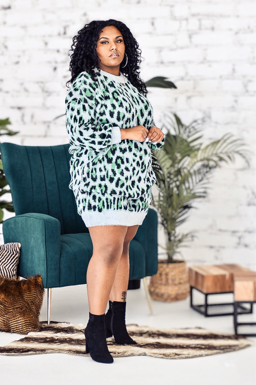 Chill Cheetah Dress