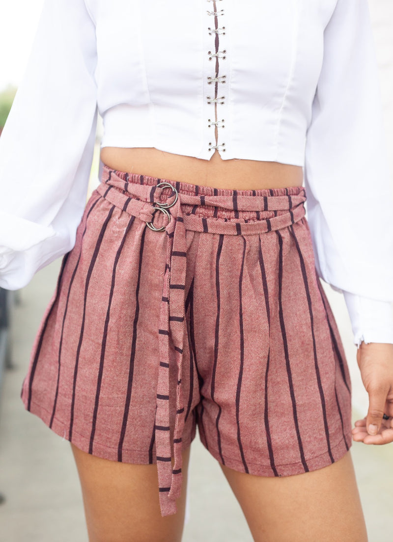 Vintage Stripe Shorts