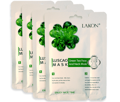 Green tea face masks - happydetoxtea-us.com