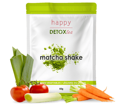 Garden Vegetables Matcha Shake - happydetoxtea-us.com