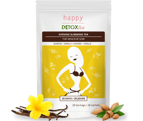 Almond & Vanilla Slimming Tea - happydetoxtea-us.com