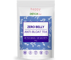Zero Belly - Anti-Bloat Tea - 4 weeks Program - happydetoxtea-us.com