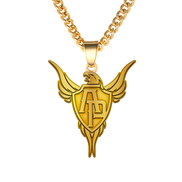Phoenix Gold Necklace