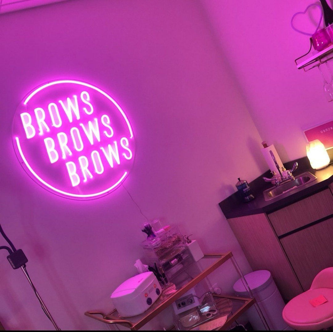 Brows Brows Brows The Neon Studio