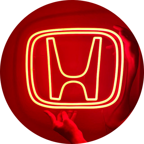 Red Neon Sign
