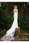 Sweetheart Wedding Dress With Chapel Train Satin STKP6C244JT