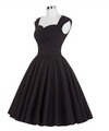Simple Sweetheart Sleeveless Tea-Length Ruched Dark Navy Taffeta Homecoming Dresses