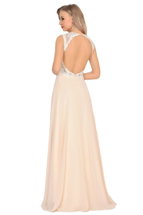 2020 Scoop Open Back Prom Dresses A PAHZ62ZM
