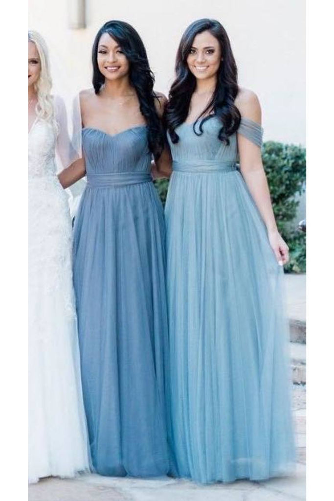 Bridesmaid Dresses/Prom Dresses A-Line Sweetheart Off The Shoulder Floor-Length STKP8TNT3E5
