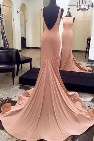 Sexy Prom Dresses Mermaid Evening Dress Long Evening Dress Backless Prom