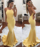New Arrival Sexy Backless Mermaid Long Formal Evening Dress Elegant Prom Dresses