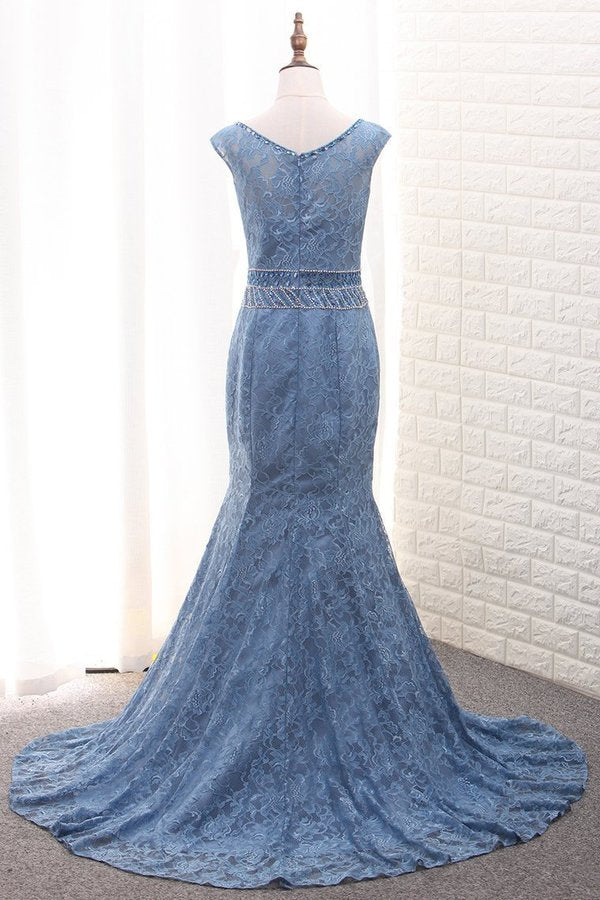 Scoop Mermaid Lace Mother Of The Bride Dresses With PPPJ8CKS