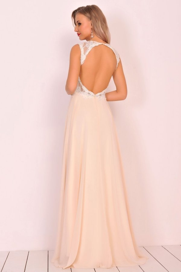 Scoop Open Back Prom Dresses A PAHZ62ZM