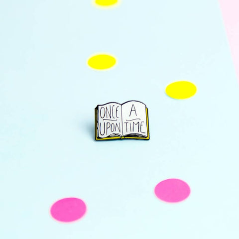 once upon a time enamel pin - Funky Cat Emporium