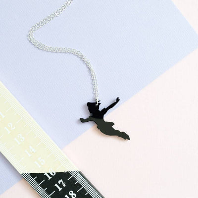 You Can Fly Silhouette • Peter Pan inspired • Necklace