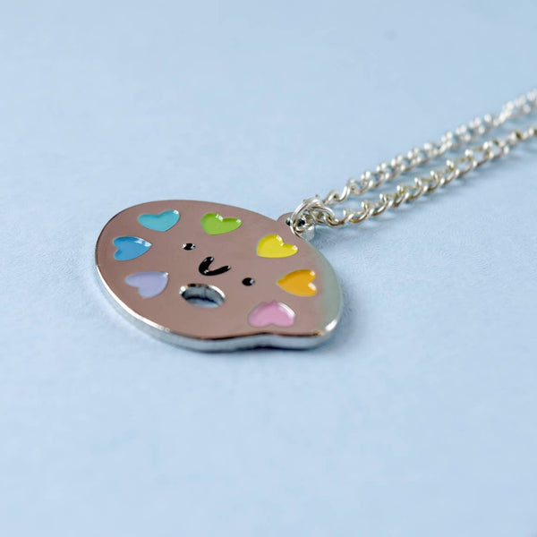 Paint Palette Kawaii Necklace - Funky Cat Emporium